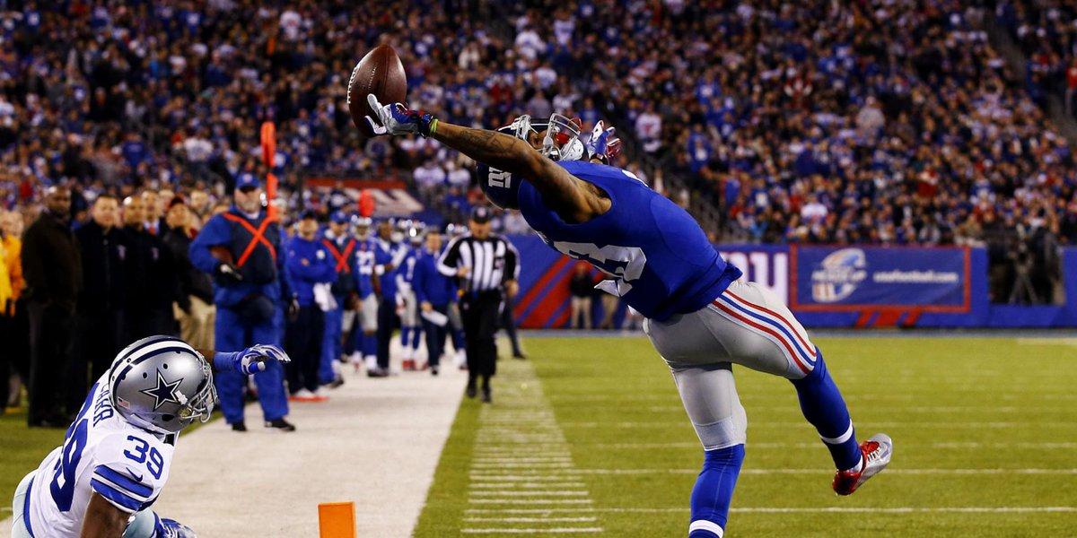 OBJ's catch will be printed on packaging of new sports drink http://t.co/Xl92QIfLal http://t.co/wJskjXz5sD