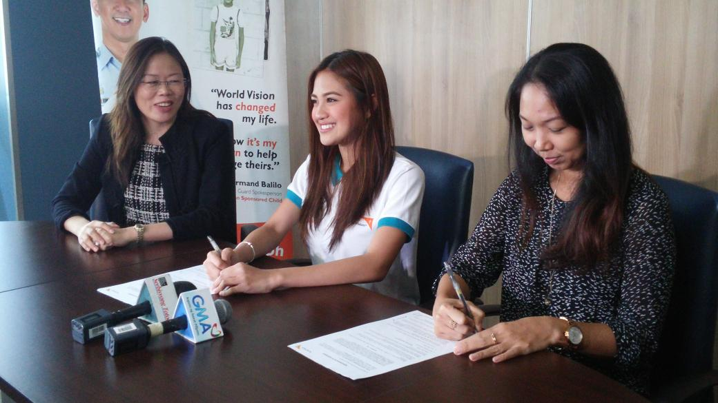 Happening now: Kapuso singer actress @MyJaps is the newest @WorldVisionPH Celebrity Advocate! http://t.co/qfcTRJ3opy