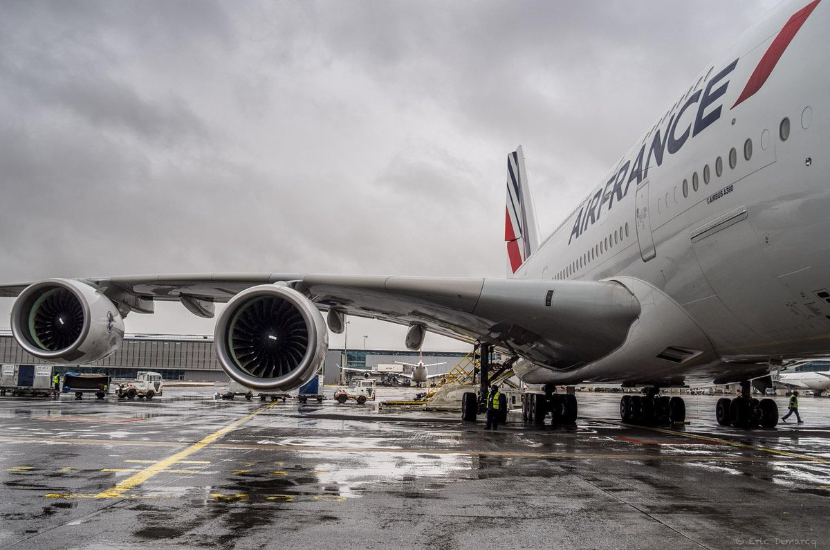 It's raining. A lot. But we've got you 'covered'. Win an Air France umbrella!