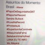 Com todo respeito: chupa Xuxa & coleguinhas da TV aberta #PapoDeSegundaNoGNT no topo do #TTBrasil ontem à noite