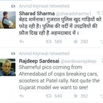 Hardik Patel is an open AAP supporter. Entire AAP top brass RTs same set of hateful tweets. Adding fuel to fire. Sick http://t.co/4XSiO1a0hV