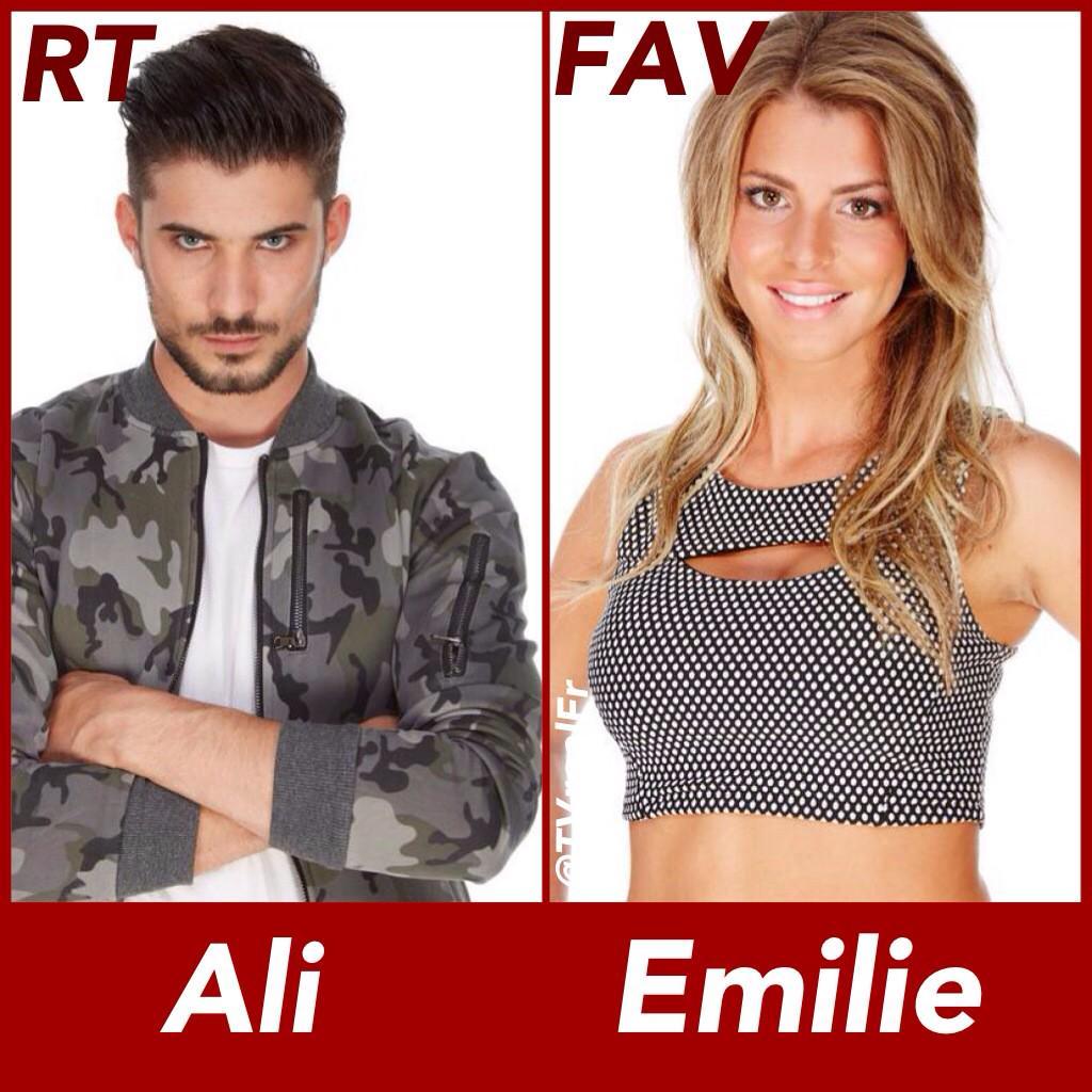 #SS9 Qui préfére tu ??? [RT] pour Ali [FAV] pour Émilie #TeamAli #TeamEmilie http://t.co/L95uPdGKFa