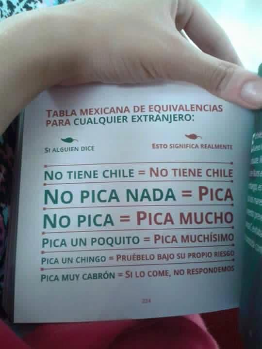 Pásalo a tus amigos no-mexicanos