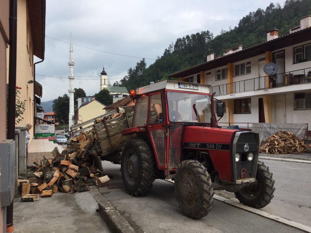 Preparing for winter #srebrenica #Bosnia http://t.co/fnO7RWkWDx