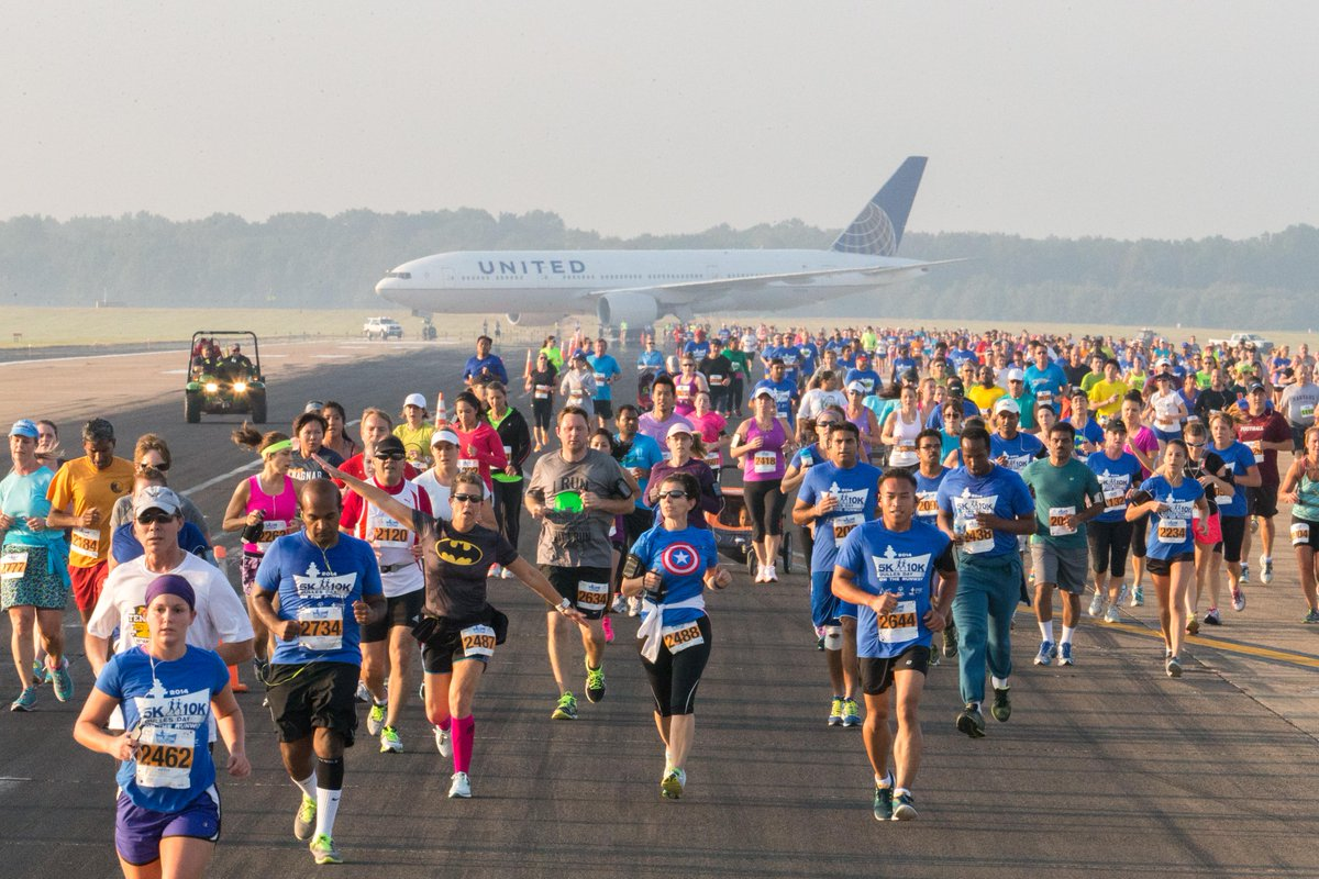 Run on a Runway? Really? No kidding! Join us on September 19th! Sign up at  @SOlympicsVA