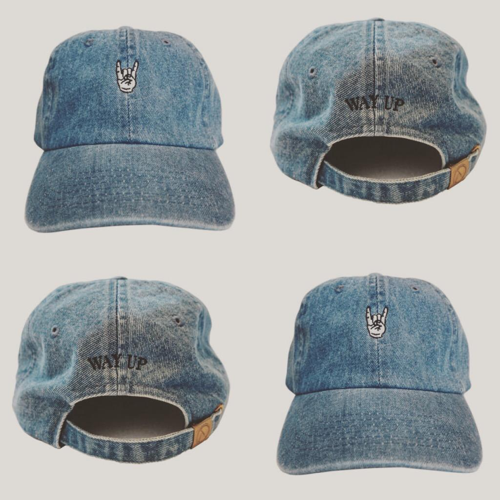 Popcaan Unruly / Way Up denim polo cap in the @Mixpak store now!