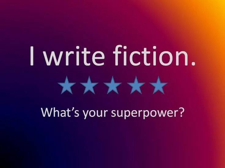 I write #fiction  What's your Superpower? #amwriting #amwritingfantasy http://t.co/cffE5VU6xz