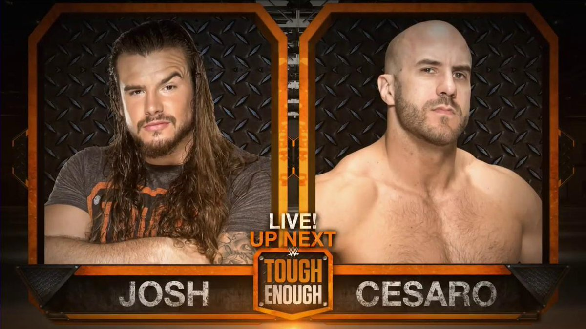 NEXT on @WWEToughEnough: @ToughJoshua versus @WWECesaro http://t.co/7Wc5wkf7VH
