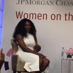RT @jpmorgan: .@serenawilliams tells @RobinRoberts