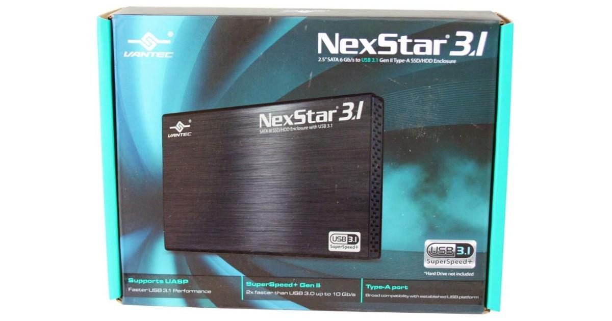 .@VantecUSA NexStar USB 3.1 2.5-inch Portable Storage Enclosure Review http://t.co/de3aE7NJd7.