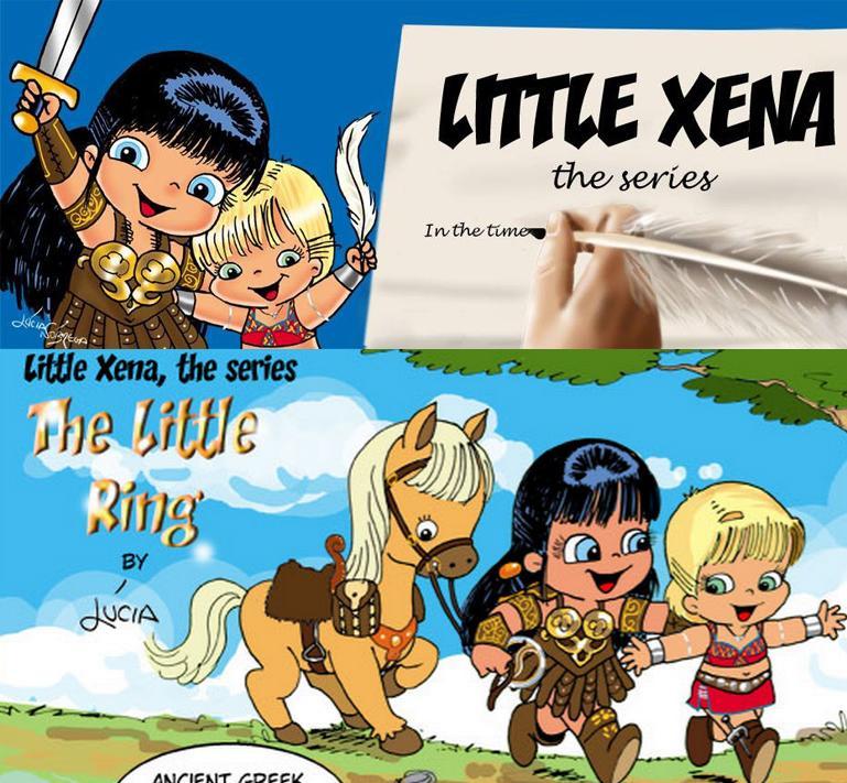 ANNOUNCING: Little Xena and Gabrielle Comic Strip!! Little Xena: The Series by @Lootcha http://t.co/zvMnZJ985l #Xena http://t.co/NKvVfvFYep