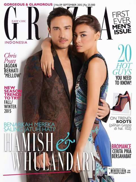#PerfectCouple @HamishDaud w/ @whulandary2626 for @graziaindonesia Sept Issue. #DamnWeLoveWhulandary #MissUniverse http://t.co/DNGL13ofRd