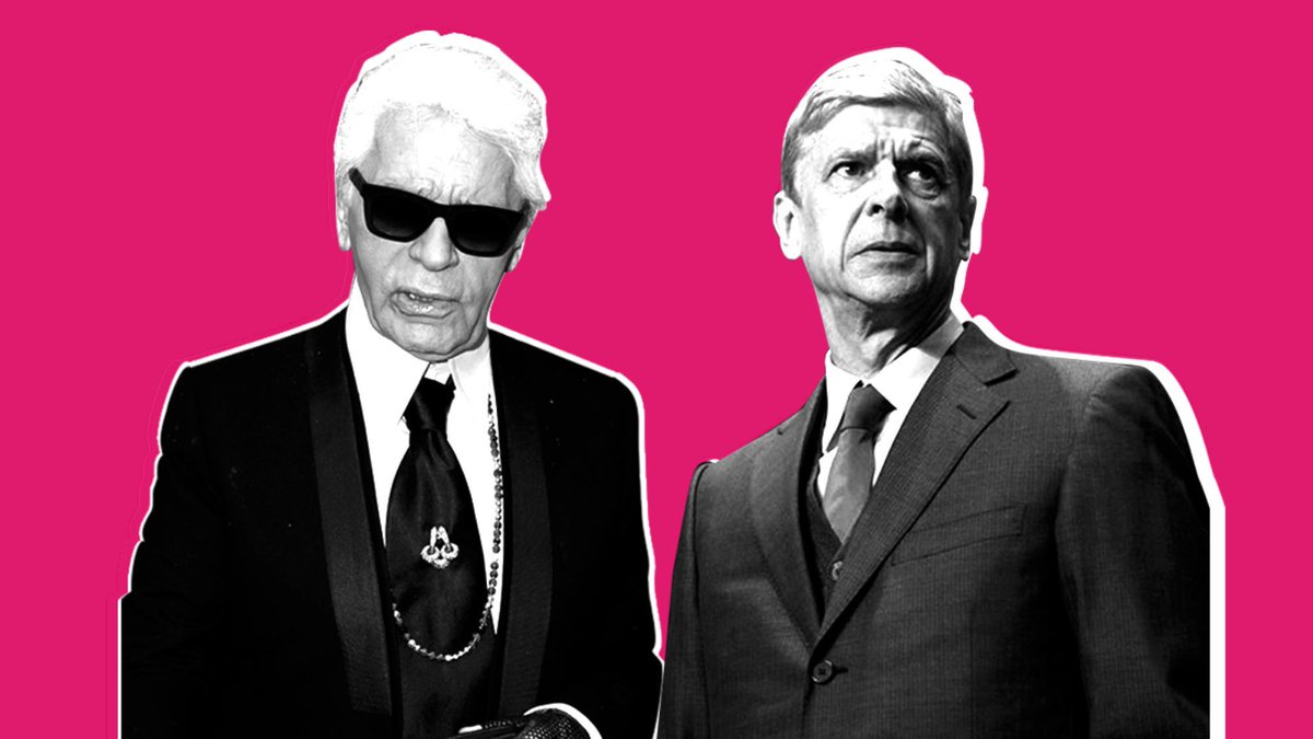 Why Wenger is Karl, Pep is Raf, Van Gaal is Galliano and Hedi is Jose: http://t.co/LswMNWt659 (thanks @susiebubble) http://t.co/AU1KUfSjd2