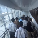 Insensitive VIP culture. 10 people to receive 1 person at Goa airport. Toddling along, blocking 150 people.