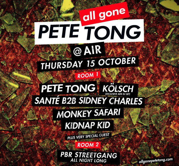 #ADE 2015 - All Gone Pete Tong