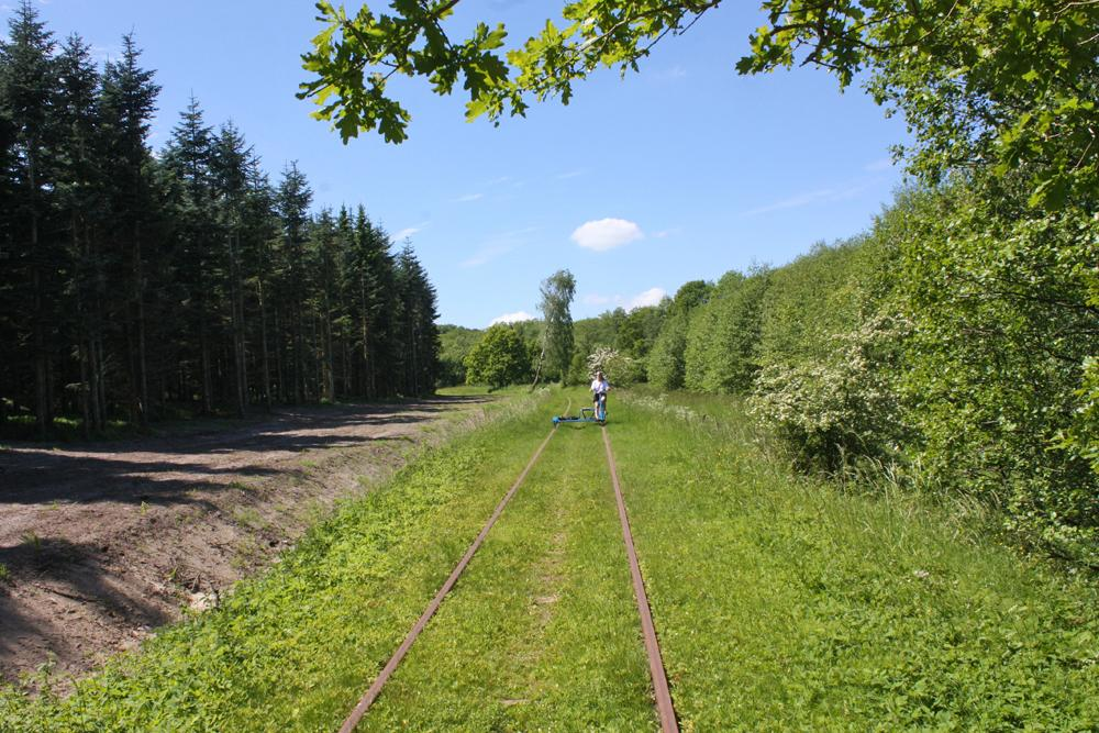 This disused railway in Sweden makes for a cool countryside tour: