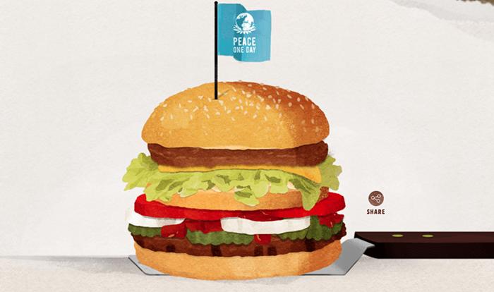 #burgerking propone a #mcdonalds alto al fuego para crear #McWhopper de cara al #DíadelaPaz http://t.co/a9Qab11eri http://t.co/tfO493beZA