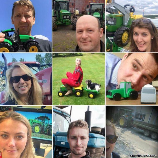 Viral News Update: Tractor Selfie Campaign For Mental Health Goes Viral