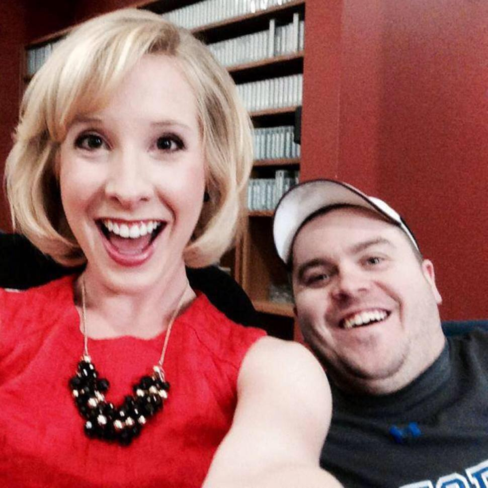 Forget the video. This is how to remember Alison Parker & Adam Ward (photo via @NYDailyNews) Prayers to @WDBJ7. http://t.co/K8CXRgEExc