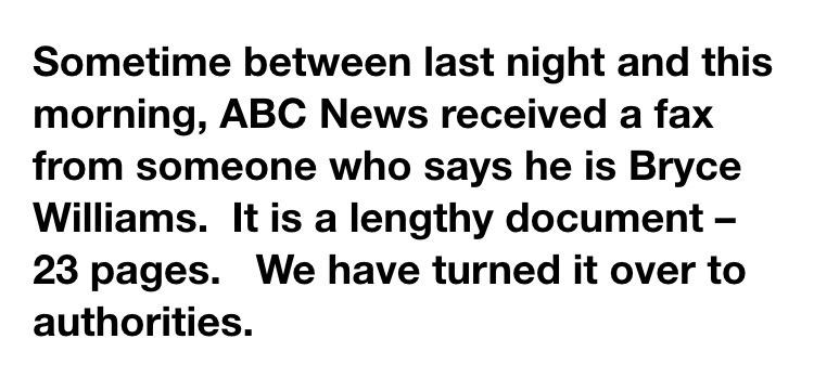 Gio Benitez (@GioBenitez): Statement from @ABC: http://t.co/2bMhK2nvS1