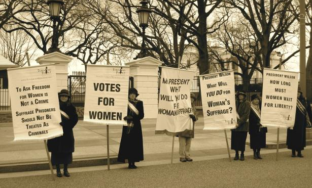 Women fought for the right to vote, make sure you're registered & participating in democracy. #WomensEqualityDay http://t.co/lBmWNgtpog