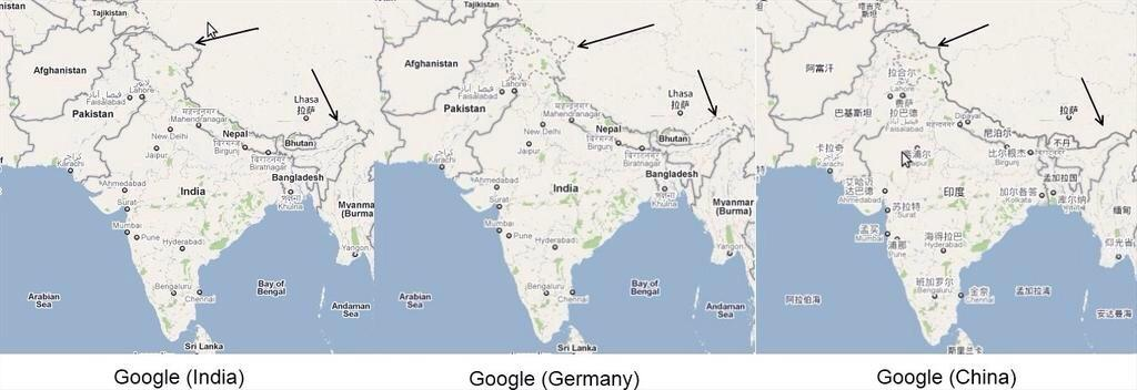 One world, many maps. http://t.co/kA5osI7Ql4