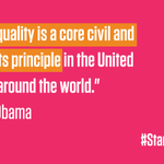The fight for equality is not over. #WomensEqualityDay