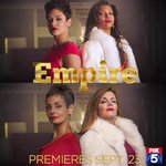 Dont @gurvirfox5 & @JoanneFOX5 look great as Anika & Cookie? @EmpireFOX returns Sept 23! #EmpireSeason2 http://t.co/B7fsAjQk9q