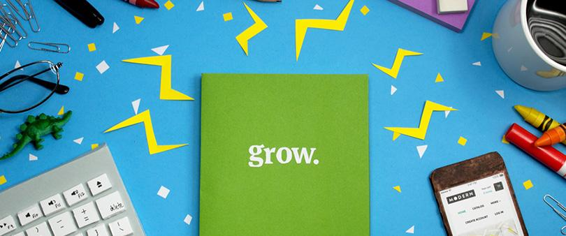 """Download a free copy of """"Grow"""" which covers all aspects of growing your design or dev biz: http://t.co/XRmfopjoZS http://t.co/CWkhhPadAA"""
