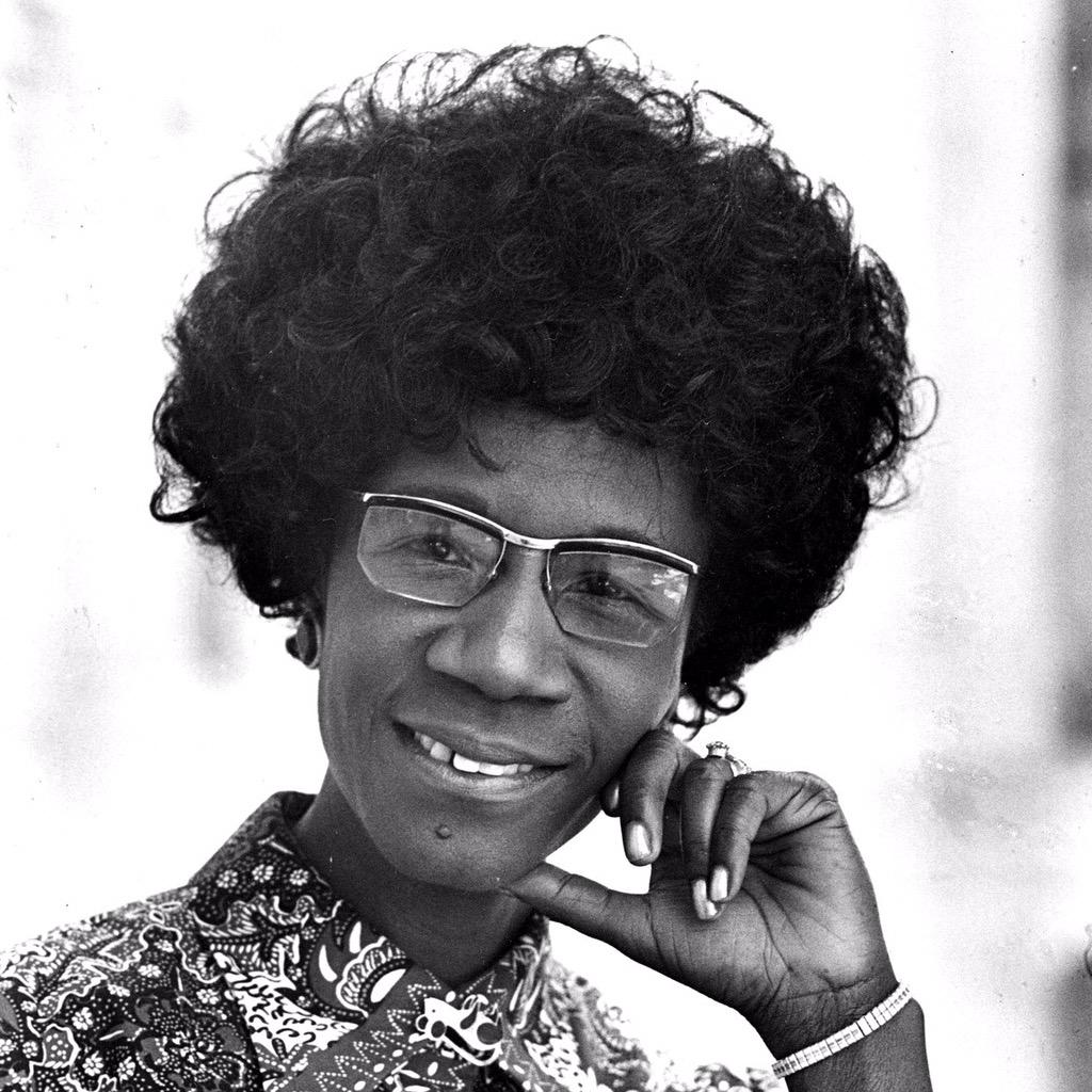 """""""If they don't give you a seat at the table, bring in a folding chair."""" Shirley Chisholm #WomensEqualityDay http://t.co/q5VB3f5LL8"""