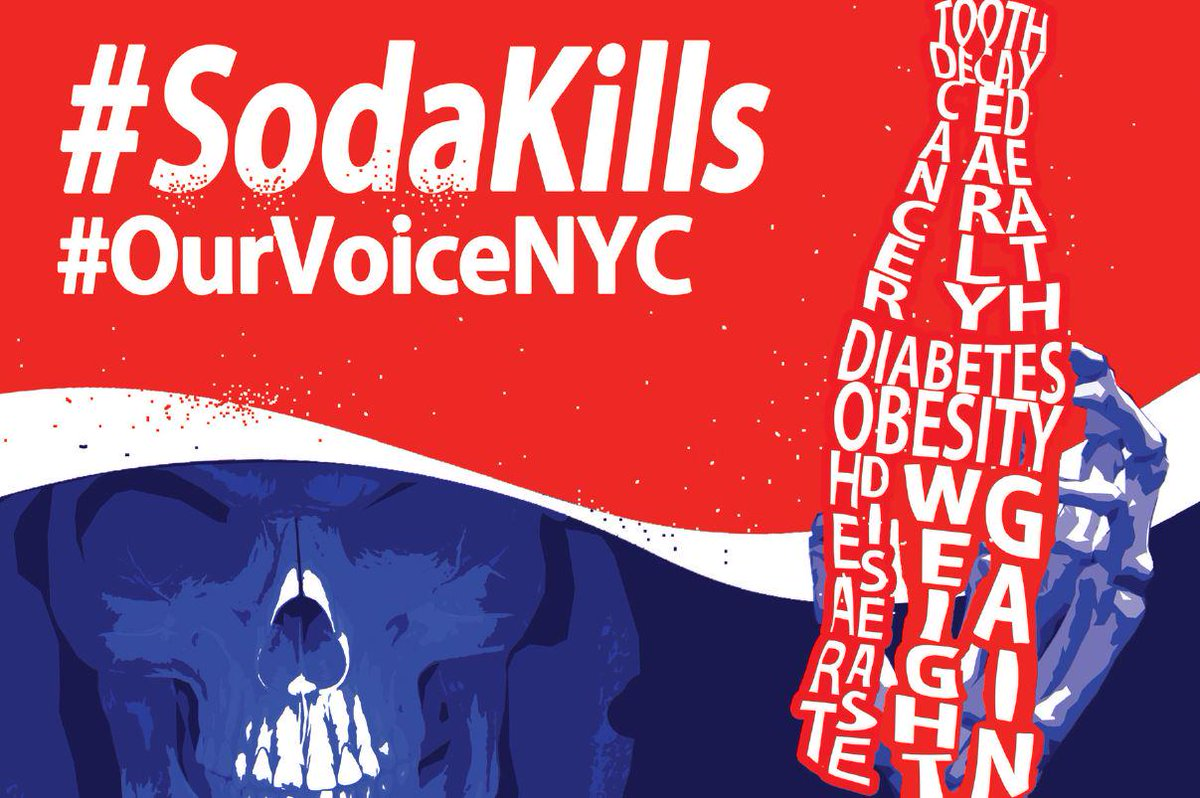 Black youth see 90% more sugary drink ads than White youth. See what NYC kids are saying back #OurVoiceNYC #SodaKills http://t.co/zIb7vvUJw5