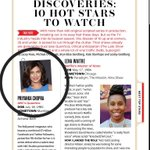 India's @priyankachopra on @THR's list of 10 Hot TV Stars to Watch. #Quantico