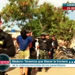 Pdte. @NicolasMaduro: Debemos liberar a la frontera de la violencia terrorista y paramilitar https://t.co/itoNYWJUkk http://t.co/q0RR7hpBPD