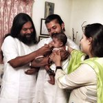 RT @AOLSwamiji: Today is the naming ceremony of Cricketer  @sreesanth36 's baby girl