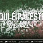 Fim de jogo! O Verdão vence o Cruzeiro por 3 a 2 no Mineirão e está nas quartas de final da Copa do Brasil! http://t.co/4a4qoLPv1x