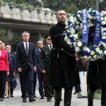 #NATO SG @jensstoltenberg laid a wreath at the Fallen Heroes Memorial #Georgia http://t.co/45UWfaEN0O
