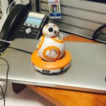 Watch! The Sphero Star Wars BB-8 is here and @Donald took it for a spin at @make:  https://t.co/qBjbjv9bfL http://t.co/EHJ8PYuXb0