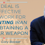 New Jersey Senator @CoryBooker becomes #35 to publicly support the #IranDeal. http://t.co/u7LF3NhSWn http://t.co/tYhM2UupRE