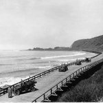 Ventura County, Rincon Causeway, 1912. #TBT Courtesy of Records of the California Department of Public Works http://t.co/gX8nUlx8gR