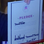 The date Donald Trump wrote on the RNC pledge he signed is for the wrong date http://t.co/bcHXGzHYhv http://t.co/GXu1ag2VFx