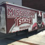 Packing up the Big Dawg today for our road trip to Hattiesburg. #HailState http://t.co/wQ189Rh6pB