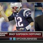 .@Patriots fans, rejoice! Tom Brady beats NFL in #Deflategate case, 4-game suspension overturned. http://t.co/8Z60T0155h