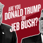 QUIZ: Find out who fits you best, Donald or Jeb ... because their positions are not different. http://t.co/bvPOViPC6V http://t.co/aZWhITh0Xp