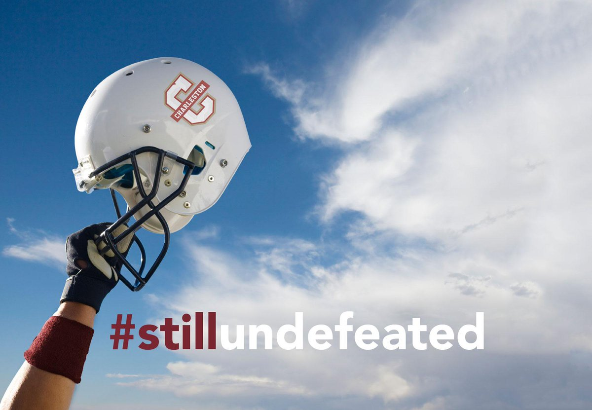 As college football season starts, we'd like to remind you that CofC is #stillundefeated. http://t.co/iN8ZDXXf4I