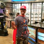 Fun day at work when everyones wearing super hero capes! #SFGAM2016 @realmilwaukee @fox6wakeup http://t.co/6Jeywsf02o