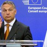 """Er halte sich lediglich an EU-Regeln. #Orban: """"Das ist ein deutsches Problem"""" #Fluechtlinge http://t.co/kYe1TARTlb http://t.co/b5eGbxZcDY"""