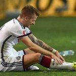 Com uma fratura no dedo do pé esquerdo, Marco Reus está fora dos jogos contra Polônia e Escócia pelas Eliminatórias http://t.co/CTaPZXExZA