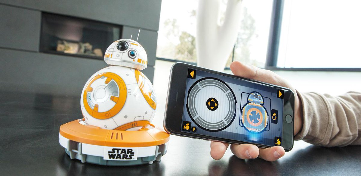 This is the Droid you're looking for. See it in action here: https://t.co/grRWi4yBmf #SpheroBB8 #BB8 #StarWars http://t.co/SJLLR5yXjw