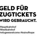 Es gibt jetzt ein Spendenkonto! https://t.co/LPRVLixrSX #Westbahnhof #Hauptbahnhof #wien #trainofhope http://t.co/C6KEIF2wSr