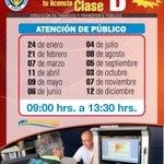 ¡Este sábado! Renueva tu licencia clase B #Antofagasta http://t.co/ZmRp6ZDc6H